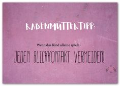#Postkarten #schreiben #Rabenmutter