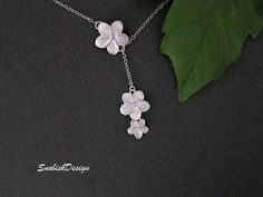 Daisy Necklace  Dainty Silver Necklace  Bridal by SnobishDesign, $28.50