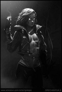 rhubarbes:  Diablo Demon Hunter by Sergey Grechanyuk.More Characters here.