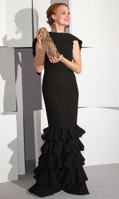 Berenice Bejo at the 27th Cesar Film Awards at Theatre du Chatelet in paris. Gorgeous