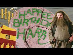 Hagrid's Birthday Cake (Harry Potter) - Let's Eat Fiction! - YouTube
