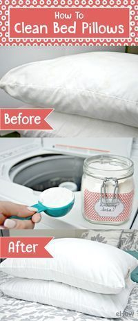 This is how to REALLY clean your bed pillows. http://www.ehow.com/how_4474159_clean-bed-pillows.html?utm_source=pinterest.com&utm_medium=referral&utm_content=freestyle&utm_campaign=fanpage