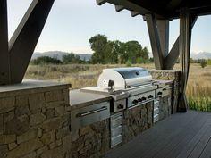 Outdoor Living Room of HGTV Dream Home 2012