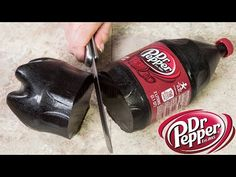 How to Make a Giant Dr Pepper Gummy Bottle (2 Liter Gummy Cola Bottle) ~ Cookies, Cupcakes, and Cardio