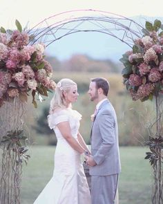 A Vintage and Whimsical Pink Wedding in Virginia | Martha Stewart Weddings