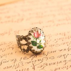 cameo ring.