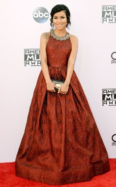 Fergie From 2014 AMAs Red Carpet Arrivals