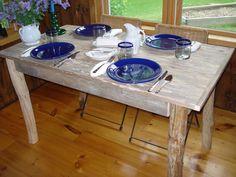 Tosin ihan liian pieni... Driftwood Dining Room Table 50 x 27 x 29H by DriftwoodTreasures, $299.00