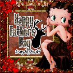Betty Boop - Happy Father's Day