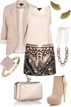 Girly glamour #style #fashion #outfut