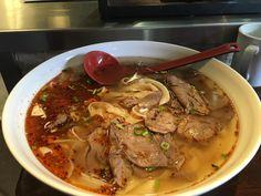 Nouilles et ramens à livrer à Montréal   Nouilles de Lan Zhou Chinese Noodle Restaurant, Mets, Pot Roast, Thai Red Curry, Ramen, Noodles, Ethnic Recipes, Restaurants, Future