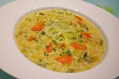 Kokos - Lauch - Suppe, ein leckeres Rezept aus der Kategorie Gebundene. Bewertungen: 20. Durchschnitt: Ø 4,1.