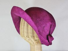 miss fisher in marionberry straw. One of our new designs for Spring 2014. $135