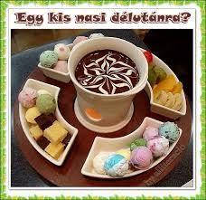 good tasting ==>dark chocolate goes properly on any day . Delicious Chocolate, Chocolate Fondue, Chocolate Chocolate, Baskin Robbins, Sweet Desserts, Waffles, Dips, Goodies, Pudding