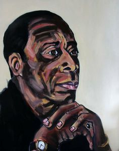 James Baldwin, Knysna, South African Artists, Fine Art Gallery, Faces, Portraits, Painting, Fictional Characters