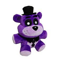 Soft and Beautiful New Purple Freddy Bear Stuffed Animal Plush Toy Doll 1pcs