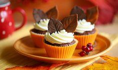 Przepis na Babeczki Czekoladowa jesień Miss Cupcake, Cooking Recipes, Food, Cooker Recipes, Essen, Yemek, Recipies, Meals