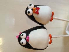 Penguin cake pops by Susan Oliver