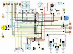 19 best motorcycle wiring diagrams images motorcycle wiring rh pinterest com