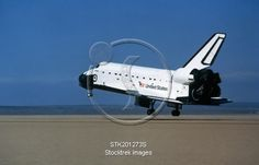 View Stock Photo of Space shuttle coming in for a landing. Space Shuttle Missions, Landing, Stock Photos, Image