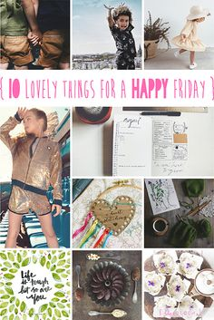 lily&Bloom . hAppy fridAy . {   10 lOvely things that caught my eye this week . sweet siblings . stretching & twirling along with the Olympics . getting organised with notebooks & sewing threads . & . getting ready for the start of this years BakeOff } .