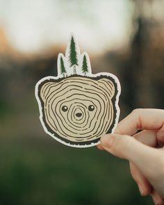 Bear Tree | Sticker – Keep It Wild