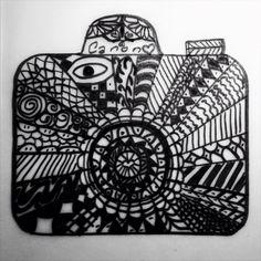 Zentangle Çizimlerim | elifgur