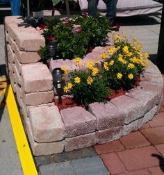 Related posts: 23 Best Corner Flower Bed Ideas Top 7 Most Stunning Flower Bed Design Ideas for Your Front Yard 36 Beautiful Flower Beds in Front of House Design Ideas 53 Best Lotus Flower Tattoo Ideas To Express Yourself Garden Yard Ideas, Garden Beds, Garden Projects, Garden Trellis, Brick Flower Bed, Flower Beds, Diy Flower, Corner Flower Bed, Brick Planter