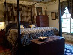 Home - Startup Digital Business Primitive Bedding, Primitive Living Room, Country Primitive, Primitive Decor, Colonial Bedroom, Country Bedding, Country Bedrooms, Country Decor, Country Homes