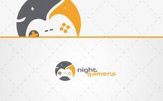 Night Gamers Controller Gaming Logo  Logo Design Buy Logos Strong Logos Logos Logo Design Logo Inspirations Vector Logos Trendy Logos Modern Logos Stylish Logos gaming logo gamers logos gaming logos