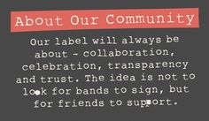 Community Music - Abundant music goodness.