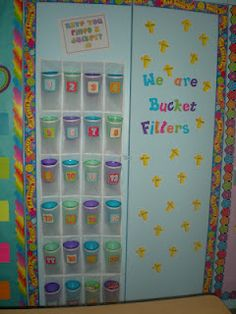 We read the bucket filler book at the beginning of the year in my classroom - I love this idea