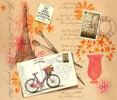 Le Printemps  By Théophile Gautier (translated: Springtime) fabric by bzbdesigner on Spoonflower - custom fabric