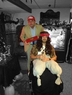 best halloween costume lt dan and forest gump