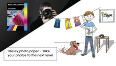 Glossy photo paper - Take your photos to the next level The Next, Your Photos, Stationary, Paper, Prints