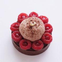Tartelettes chocolat framboises - Recette Olivia Pâtisse