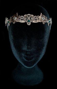 Snake Crown Medusa Gorgon Circlet Salazar Slytherin Salazar Headdress Severus…