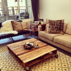 Coole Möbel aus Europaletten DIY bastelideen ambiente