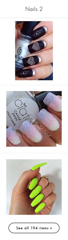 """""""Nails 2"""" by unholyvengeance ❤ liked on Polyvore featuring beauty products, nail care, nails, home, home decor, log home decor, nail treatments, beauty, makeup and filler"""