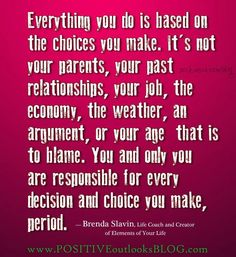 Stop blaming each other..admit our own mistakes..fix it and move on