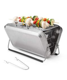 Portable Briefcase BBQ Grill | This list has something to suit even the hardest to shop for, so sit back, click around, and wait for the perfect present to show up on your doorstep.