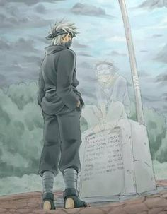 A true friend till the end. I hope we meet someday in the afterlife, obito.