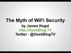 """The Myth Of WiFi Security"" Wireless Alarm System, Wireless Home Security Systems, Security Companies, Wifi, Youtube, Youtubers, Youtube Movies"