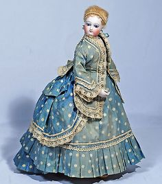 FRENCH-BISQUE-FASHION-DOLL-BY-BRU-WITH-ORIGINAL-DRESS-amp-SHOES-NO-RESERVE