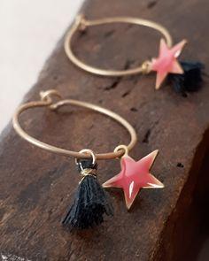 Carmen Veca Monili: Orecchini con stelline - New collection Diy Earrings, Beautiful Earrings, Resin, Jewelry Making, Jewels, Crafty, Jewellery, Lady, Handmade