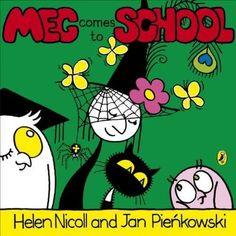 Meg Comes To School (Meg and Mog): Helen Nicoll, Jan Pienkowsky: Best Children Books, Childrens Books, New Fiction Books, Buy Pictures, Starting School, Library Catalog, Children's Picture Books, Bedtime Stories, Book Art