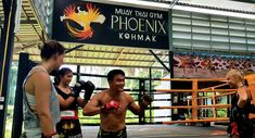 Phoenix Muay Thai Gym accepts students of all levels. Find out our packages, prices and location in Koh Mak and Koh Chang area. Come to enjoy Muay Thai classes in this beautiful island. Boxing Classes, Training Classes, Muay Thai Gym, Muay Thai Training, Koh Chang, Out Of Shape, Water Activities, High Intensity Interval Training, Most Beautiful Beaches