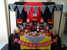 Ferrari Birthday Party Ideas | Photo 4 of 15 | Catch My Party
