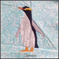 (7) Name: 'Quilting : Penguin 12 inch Paper Pieced Pattern