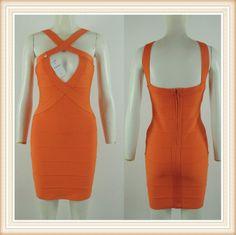 2014 orange fringe cut out bandage dress DM226 E-mail:fashondress@gmail.com Tel:86-189 3399 5760       86-135 1277 1920